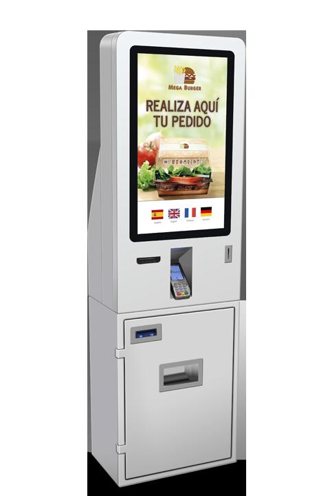 Kiosco Autoservicio | Máquina de Autopago | Caja self-checkout – CK